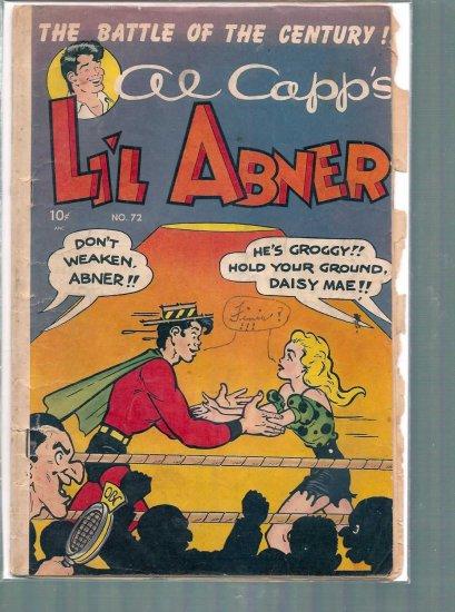LIL' ABNER # 72, 1.0 FR