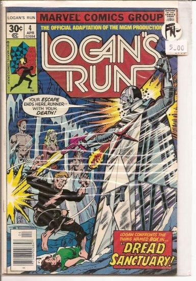 Logan's Run # 4, 5.5 FN -