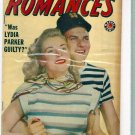 LOVE ROMANCES # 8, 4.5 VG +