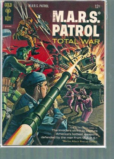 M.A.R.S. PATROL  # 3, 4.0 VG