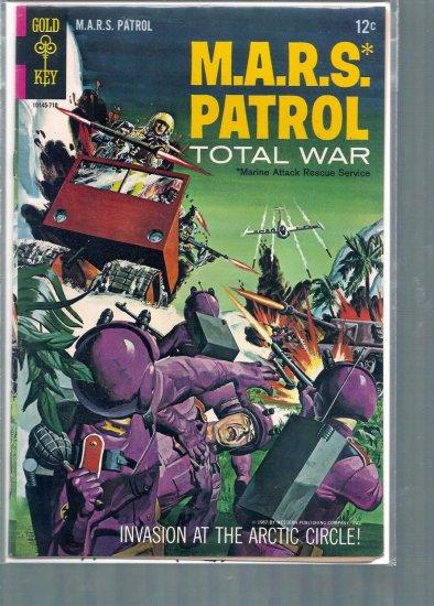 M.A.R.S. PATROL  # 4, 4.0 VG