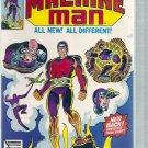 MACHINE MAN # 10, 7.5 VF -
