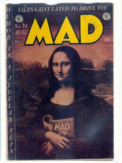 MAD # 14, 4.5 VG +