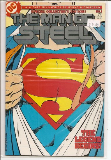 Man of Steel # 1, 9.0 VF/NM