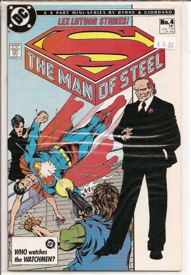 Man of Steel # 4, 9.0 VF/NM