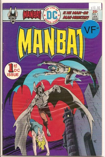 Man-Bat # 1, 7.5 VF -