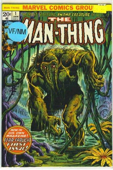 Man-Thing # 1, 9.0 VF/NM