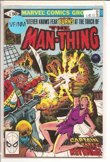 Man-Thing # 8, 9.0 VF/NM