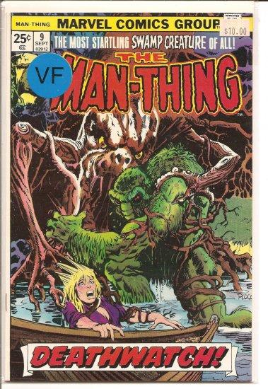 Man-Thing # 9, 8.0 VF