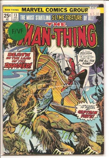 Man-Thing # 13, 7.0 FN/VF