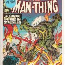 Man-Thing # 17, 9.0 VF/NM
