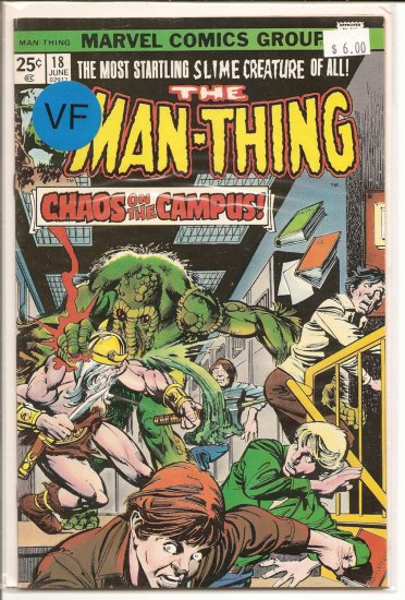 Man-Thing # 18, 8.0 VF