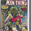 MAN-THING # 22, 4.5 VG +