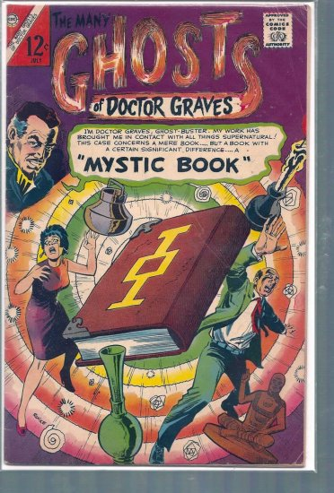 MANY GHOSTS OF DOCTOR GRAVES # 2, 4.5 VG +