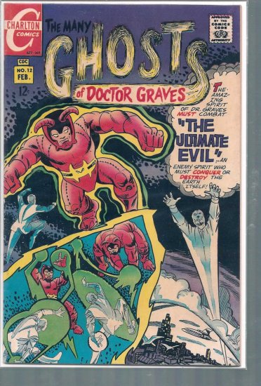 MANY GHOSTS OF DOCTOR GRAVES # 12, 4.5 VG +