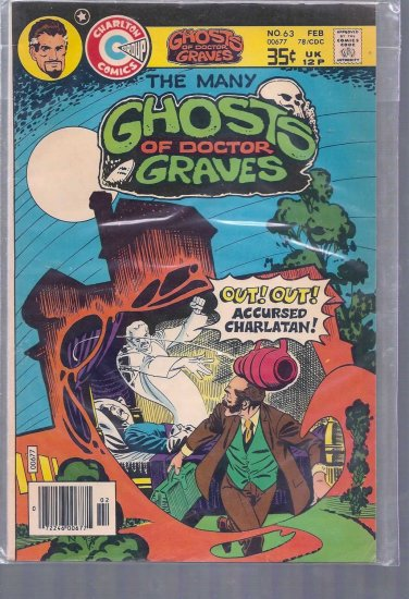 MANY GHOSTS OF DOCTOR GRAVES # 63, 5.5 FN -