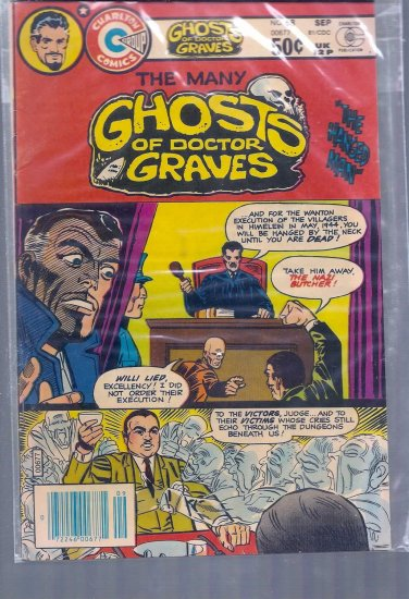 MANY GHOSTS OF DOCTOR GRAVES # 68, 4.5 VG +