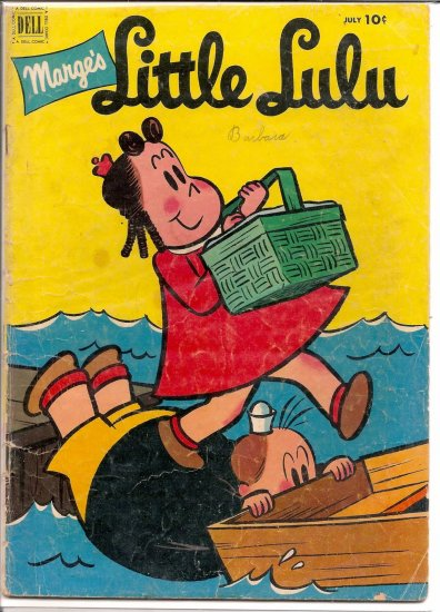 MARGE'S LITTLE LULU # 49, 3.5 VG -