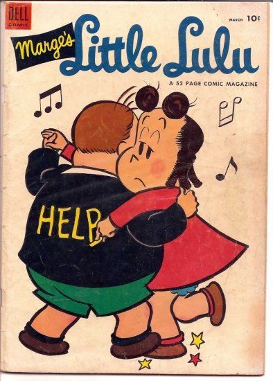 MARGE'S LITTLE LULU # 69, 4.5 VG +