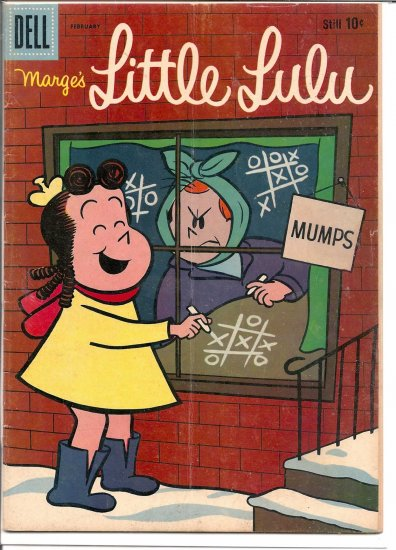 MARGE'S LITTLE LULU # 128, 4.0 VG
