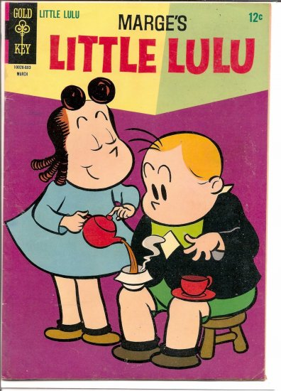 MARGE'S LITTLE LULU # 179, 4.5 VG +