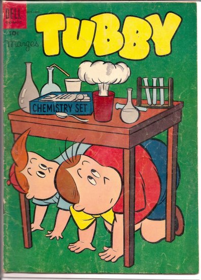 MARGE'S TUBBY # 10, 3.0 GD/VG