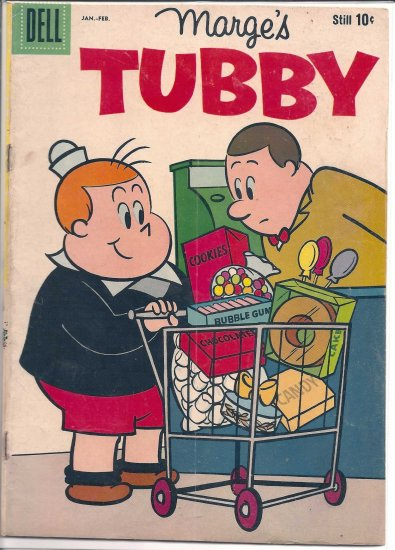 MARGE'S TUBBY # 32, 3.5 VG -
