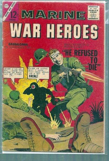 MARINE WAR HEROES # 1, 4.0 VG