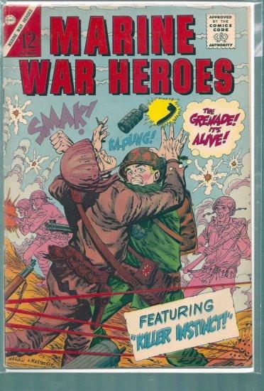 MARINE WAR HEROES # 10, 4.5 VG +