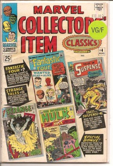 Marvel Collectors Item Classics # 4, 5.0 VG/FN