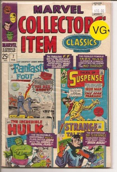 Marvel Collectors Item Classics # 7, 4.5 VG +