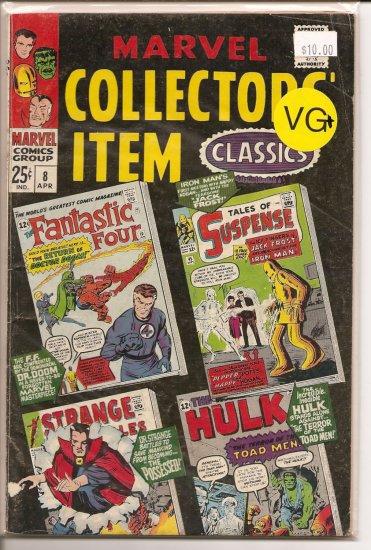 Marvel Collectors Item Classics # 8, 4.5 VG +