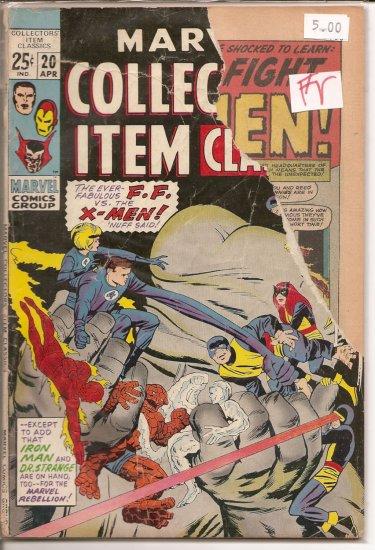 Marvel Collectors Item Classics # 20, 1.0 FR