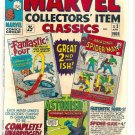 MARVEL COLLECTORS' ITEM CLASSICS # 2, 8.5 VF +