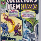 MARVEL COLLECTORS' ITEM CLASSICS # 17, 4.5 VG +