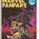 Marvel Fanfare # 2, 9.0 VF/NM
