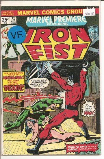 Marvel Premiere # 23, 7.5 VF -