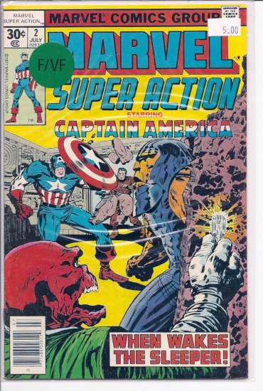 Marvel Super Action # 2, 7.0 FN/VF