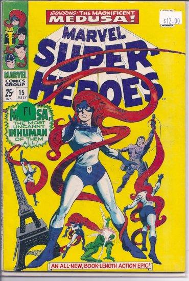 Marvel Super-Heroes # 15, 6.0 FN