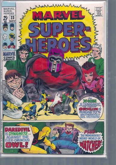 MARVEL SUPER-HEROES # 23, 4.5 VG +