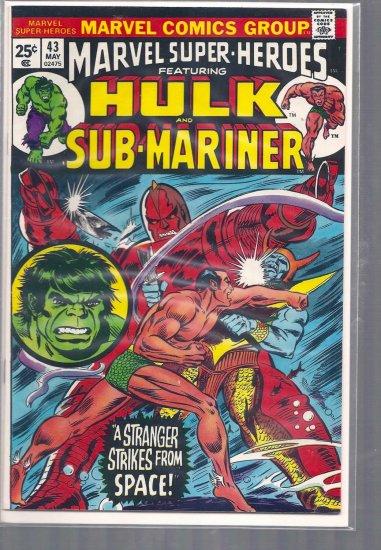 MARVEL SUPER-HEROES # 43, 5.0 VG/FN