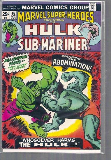 MARVEL SUPER-HEROES # 46, 5.0 VG/FN