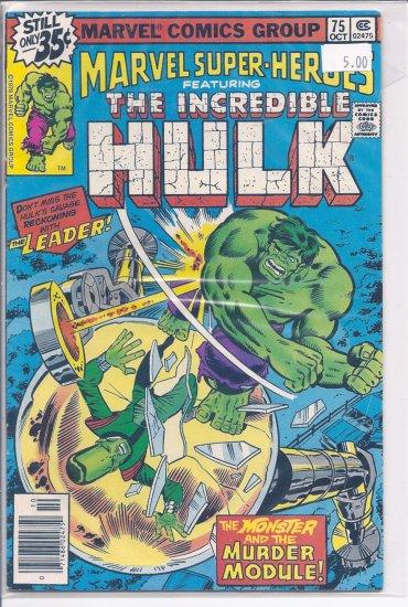 Marvel Super-Heroes # 75, 9.0 VF/NM