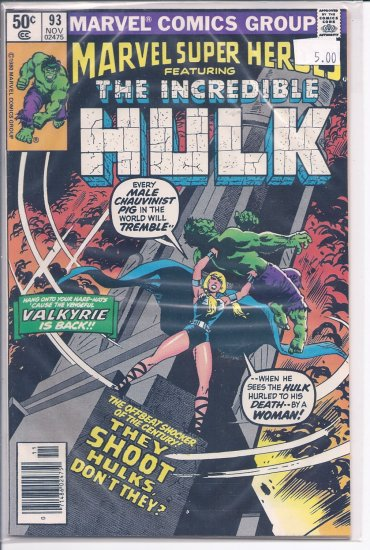 Marvel Super-Heroes # 93, 9.0 VF/NM