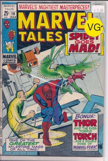 Marvel Tales # 19, 4.5 VG +
