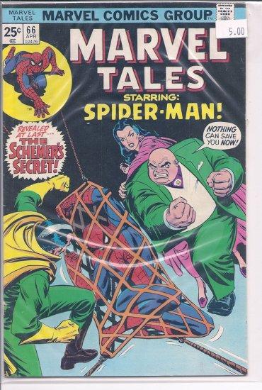 Marvel Tales # 66, 8.0 VF