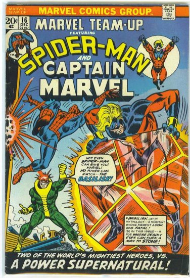 Marvel Team-Up # 16, 4.5 VG +