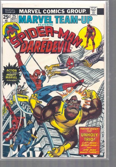 MARVEL TEAM-UP # 25, 7.0 FN/VF