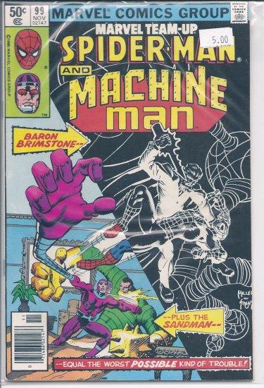 Marvel Team-Up # 99, 8.0 VF