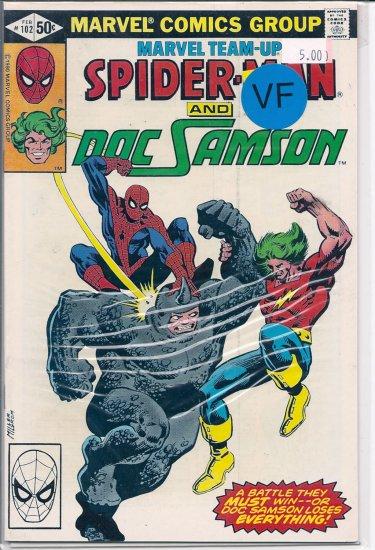 Marvel Team-Up # 102, 8.0 VF
